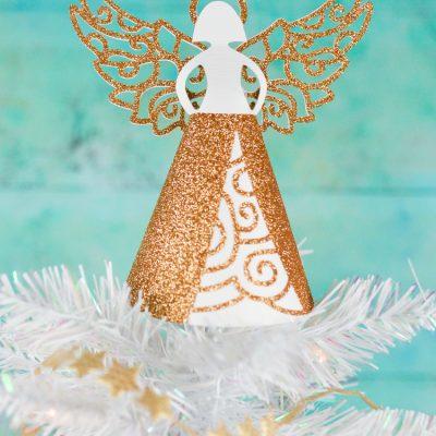 Paper Angel DIY Christmas Tree Topper
