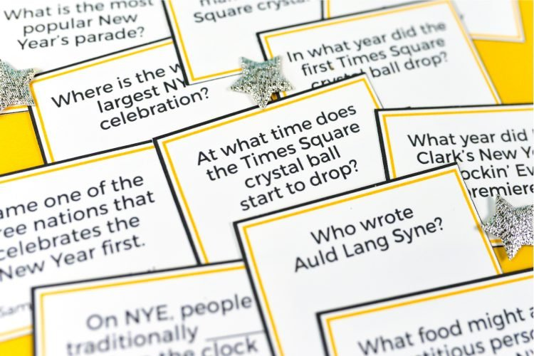 test your knowledge of all things new years eve with this fun printable new years eve