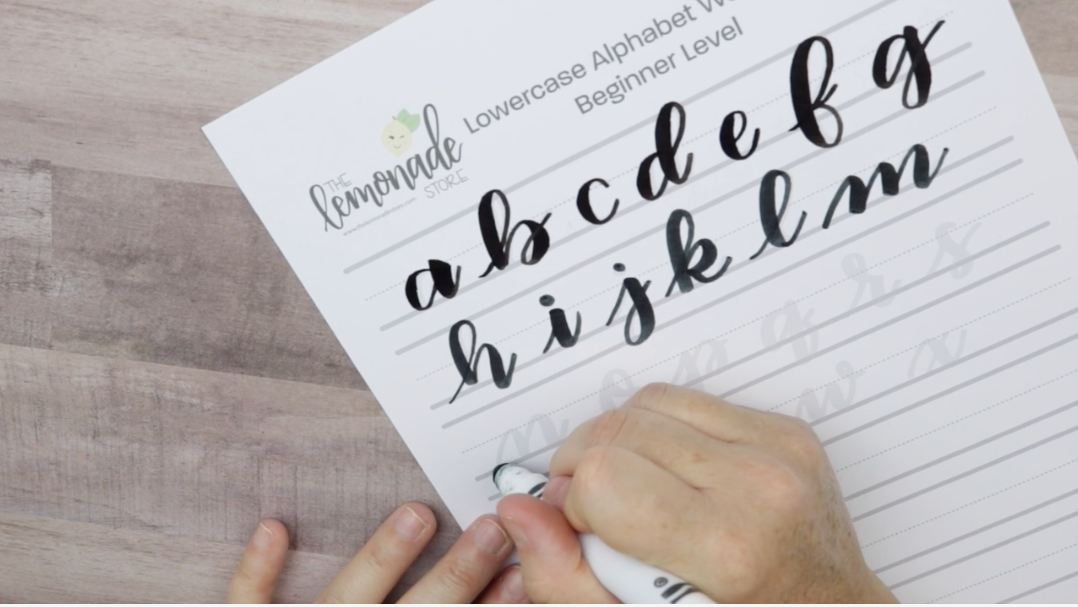 Let's Start at the Beginning! - Basics of Hand Lettering