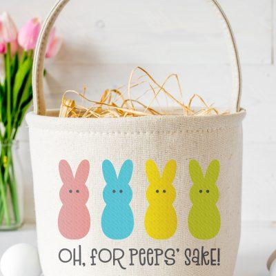 Free For Peeps Sake SVG + 15 Free Easter Cut Files!