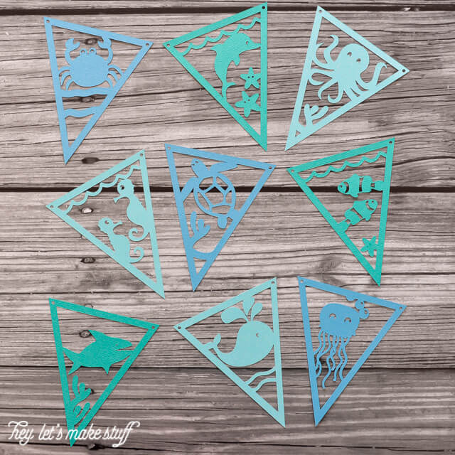 UNDER THE SEA PENNANTS