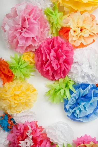Spring, weddings, Mother's Day - it's the time of year for flowers. Tissue paper flowers add beautiful style and decoration for any occasion, here's where you can find them.