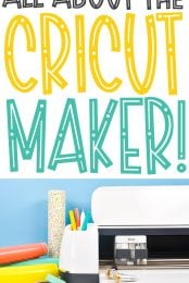 All About Cricut Maker pin image