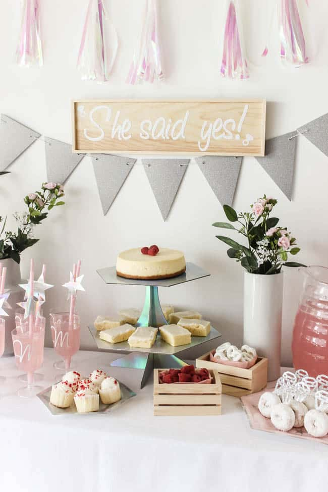 Lovecreatecelebrate.com shows us how to use our Cricut to make Beautiful Bridal Shower Decorations for any theme.