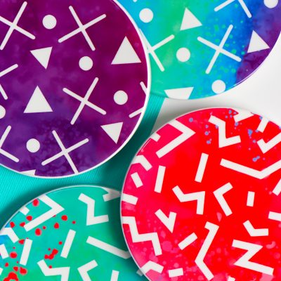 How to Make Cricut Infusible Ink Coasters