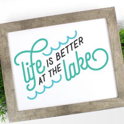 Lake Life SVG Bundle