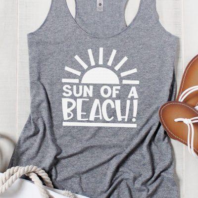 Sun of a Beach SVG + 15 Free Summer Cut Files!