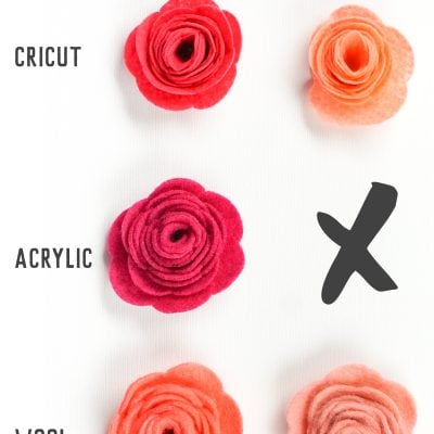 How to Cut Felt with a Cricut Explore and Maker