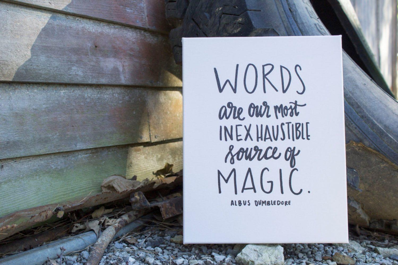 Harry Potter Dumbledore printable quote