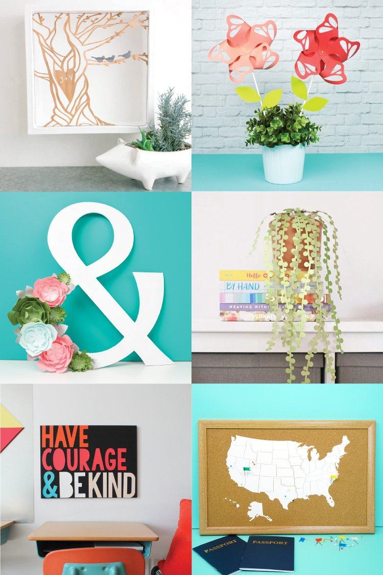 Home Decor Ideas With The Cricut Hey Let S Make Stuff