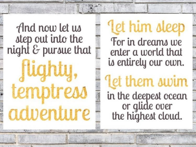 Harry Potter printable quote