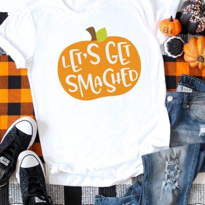 Let's Get Smashed Pumpkin SVG