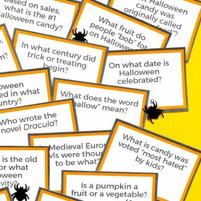 Printable Halloween Trivia