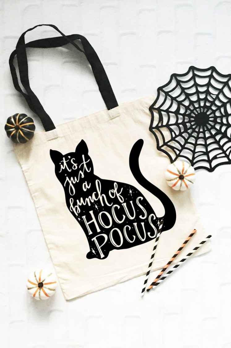 How perfect and fun is this Hocus Pocus SVG from pineapplepaperco.com? Add it to Halloween totes, shirts and other Halloween gear.