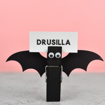 Bat Halloween Place Cards