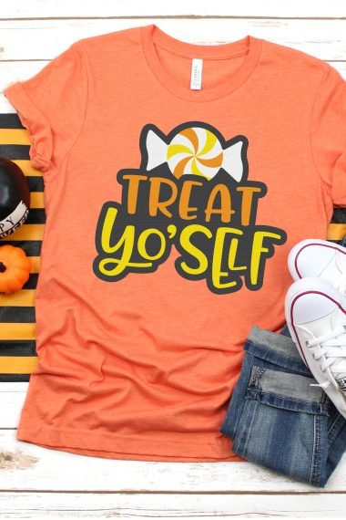 Get ready for all those sweets, treats and sugar highs with this Halloween Candy SVG Bundle. Sweeten up t-shirts, trick or treat bags, party decorations and more!