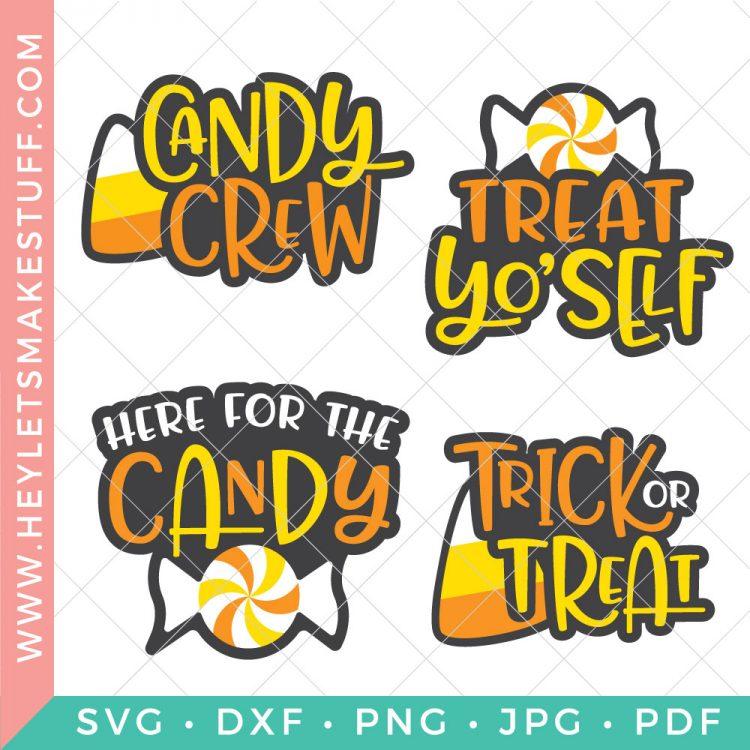 Halloween Candy Svg Bundle Hey Let S Make Stuff