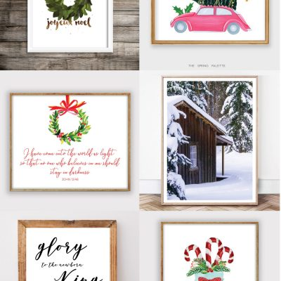 Etsy Christmas Printables for Under $10
