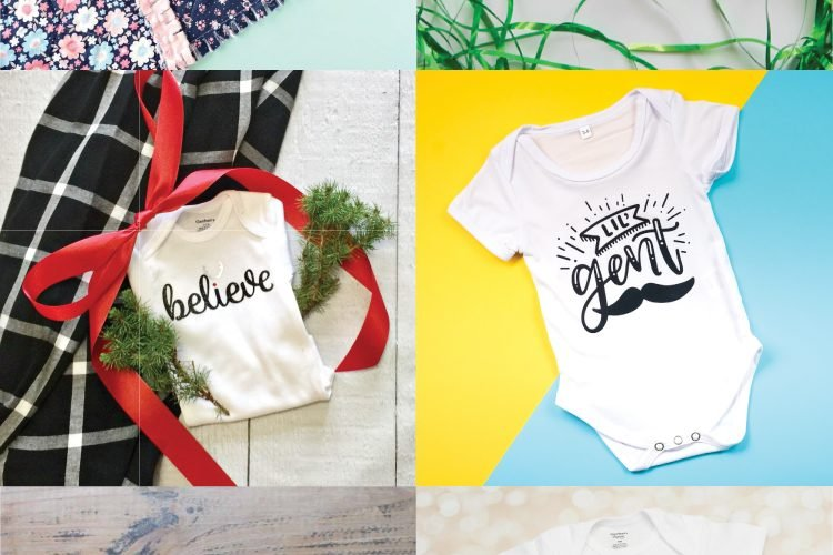 This collection of Christmas Gift Ideas for Baby with the Cricut has plenty of cute, trendy and fun gift ideas for the littlest people in your life. 'Tis the season of creating!