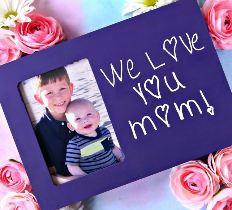 Personalized Handwriting Frame - Happy Go Lucky