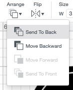 "Use Arrange tool in the top Edit Toolbar to ""send to back"" so the circle is behind your label."