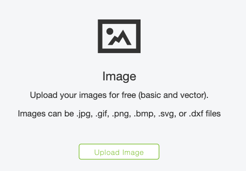 Upload Image Screen
