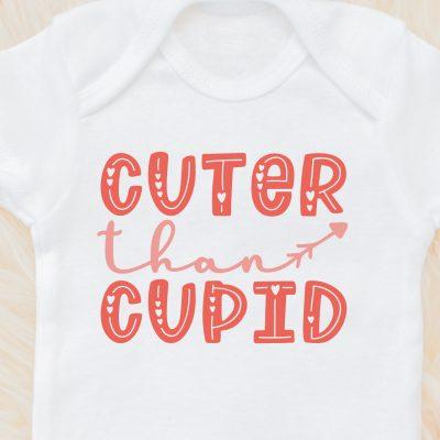 Free Cuter than Cupid SVG
