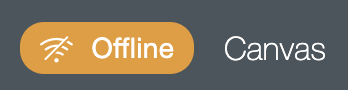 Offline icon in Cricut Design Space