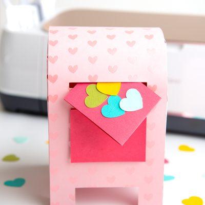 DIY Valentine's Day Box with the Cricut