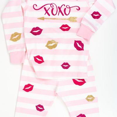 DIY Valentine's Day Pajamas with the Cricut
