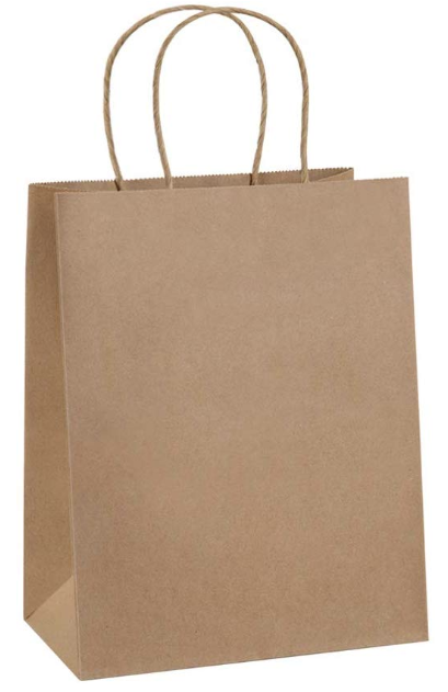 Kraft paper bag for Cricut crafts