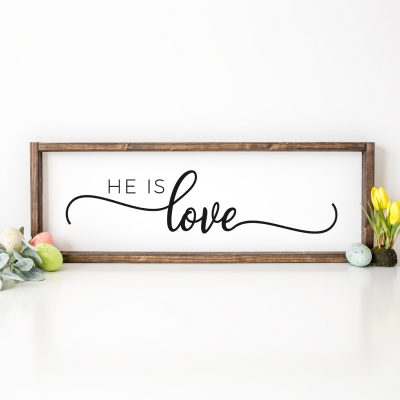 Free He is Love SVG and 12+ Christian SVG Files