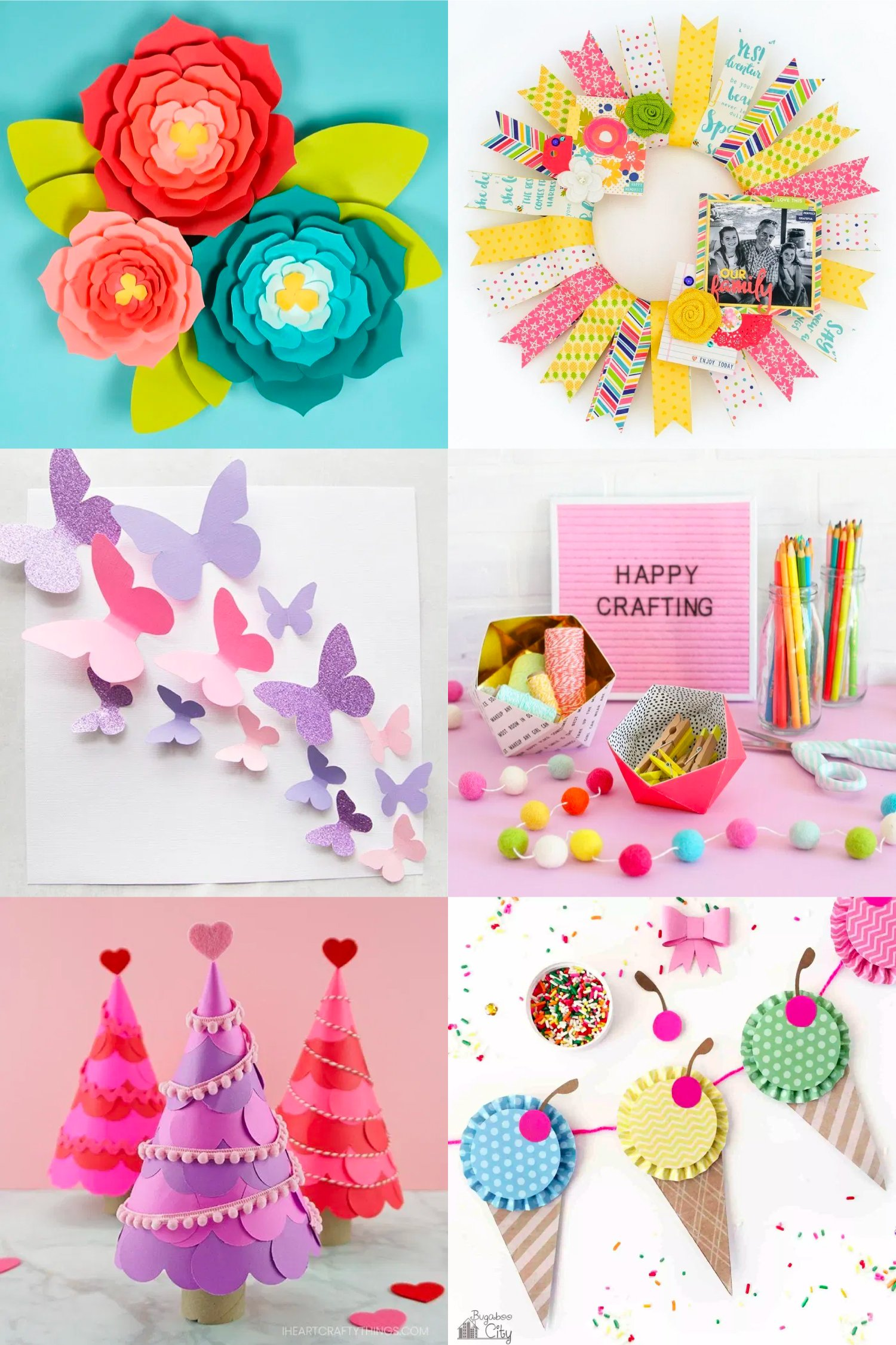 30 Gorgeous Paper Craft Ideas Hey Let