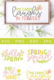 spring SVG files