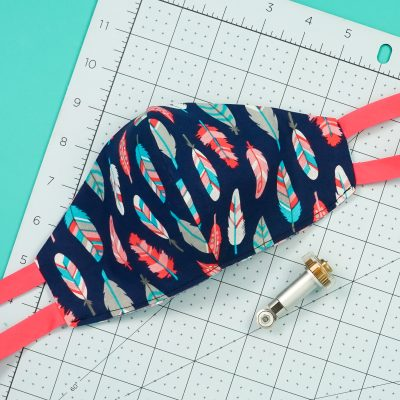 Fitted Mask SVG Pattern for Cricut Maker