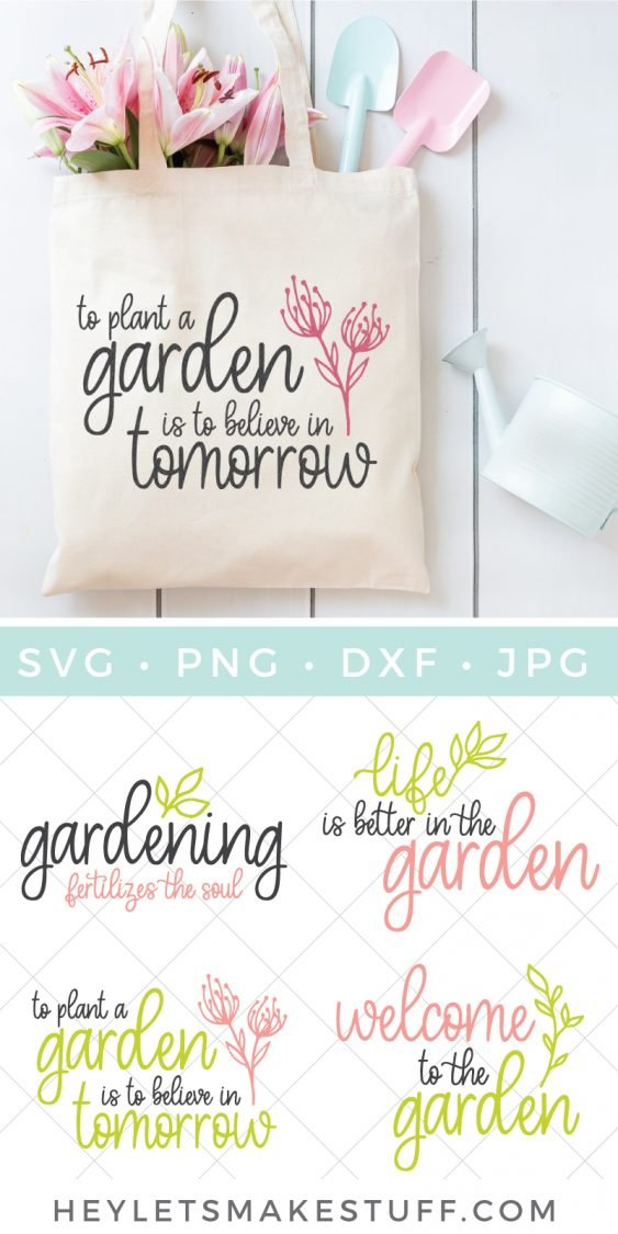 Gardening SVG Bundle pin image