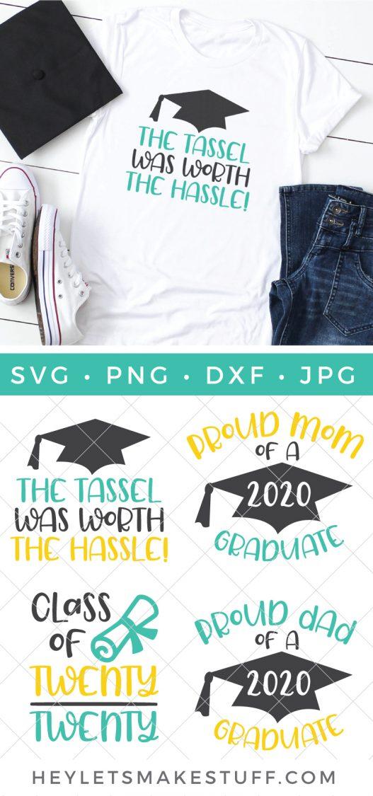 Graduation cut files pin image
