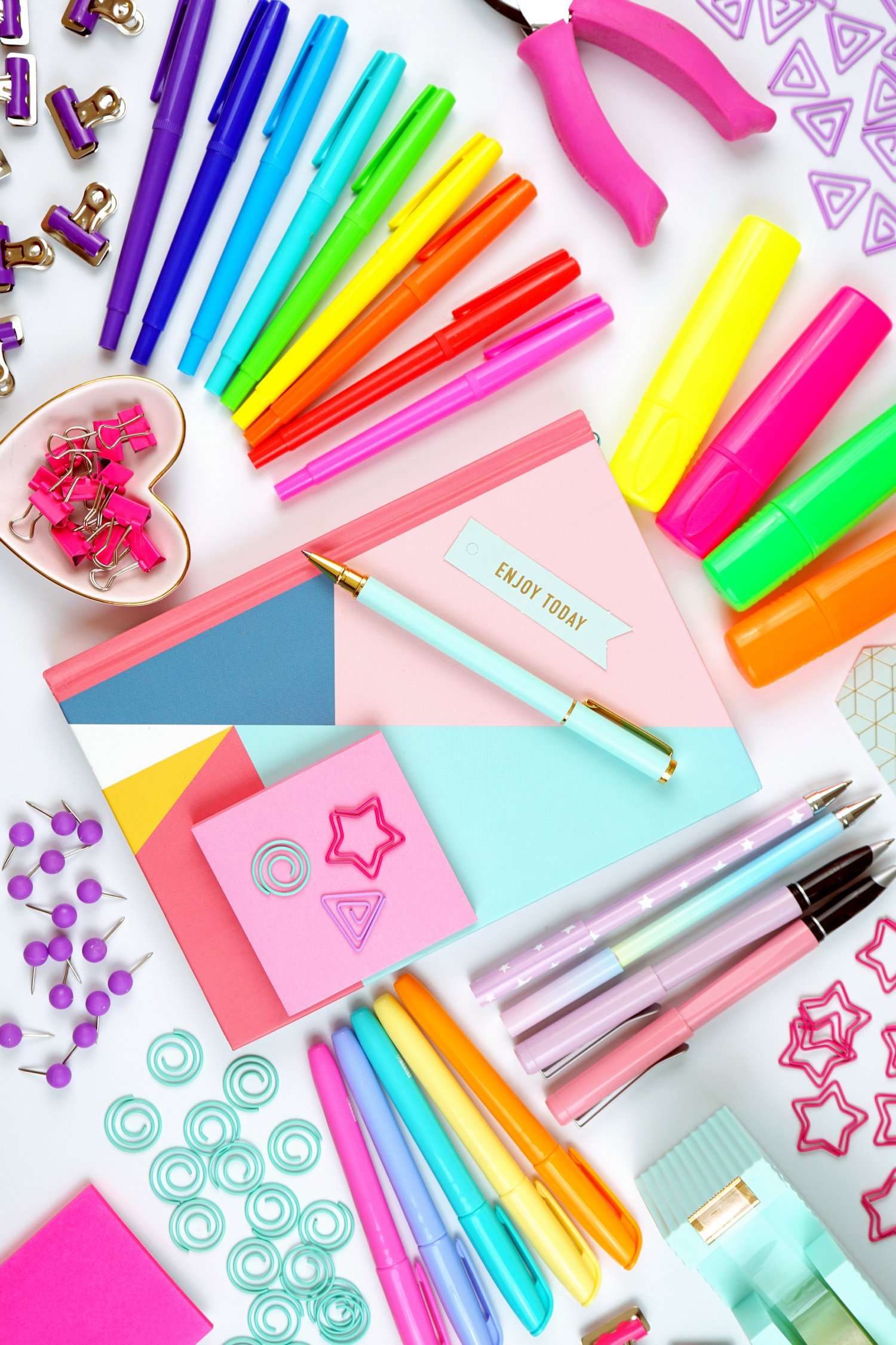 Decorative image of craft supplies
