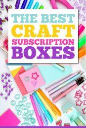 Craft Box Subscriptions Pin Image
