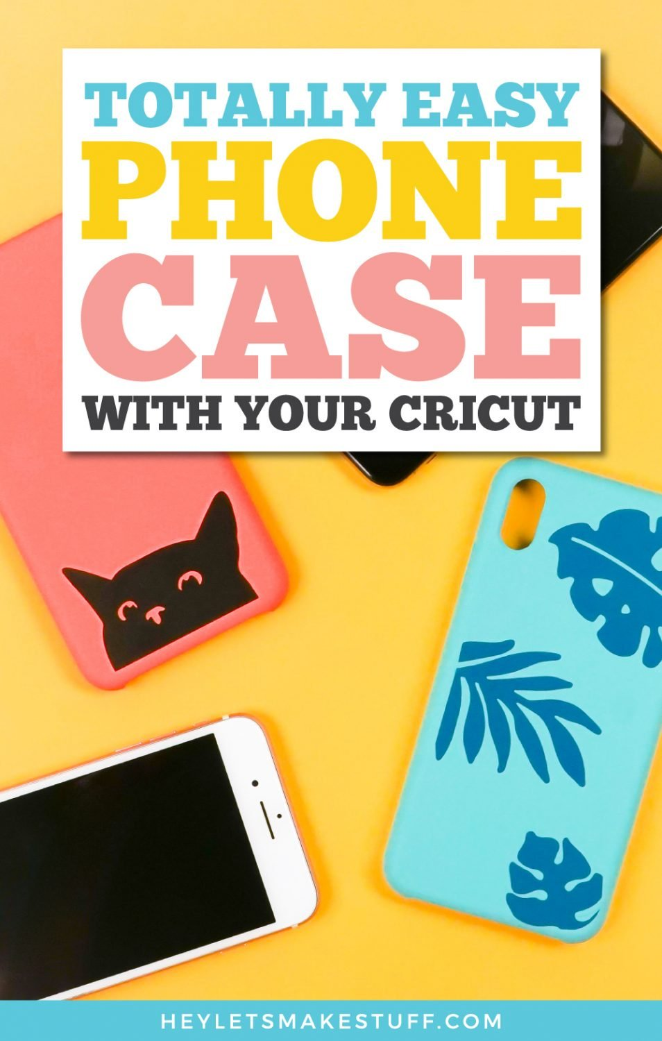 How to Personalize a Phone Case with Your Cricut pin image