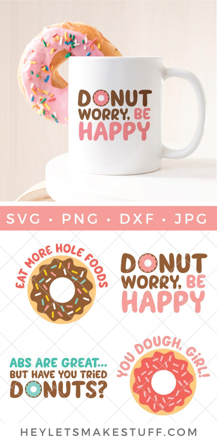 Donut SVG files pin image