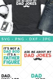 funny father's day svg bundle