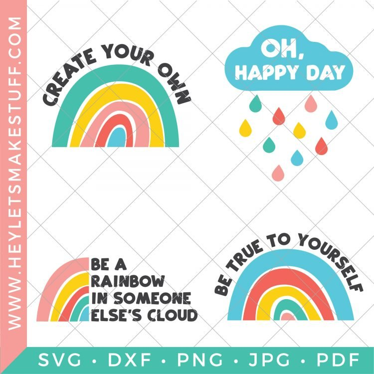 Rainbow SVG files