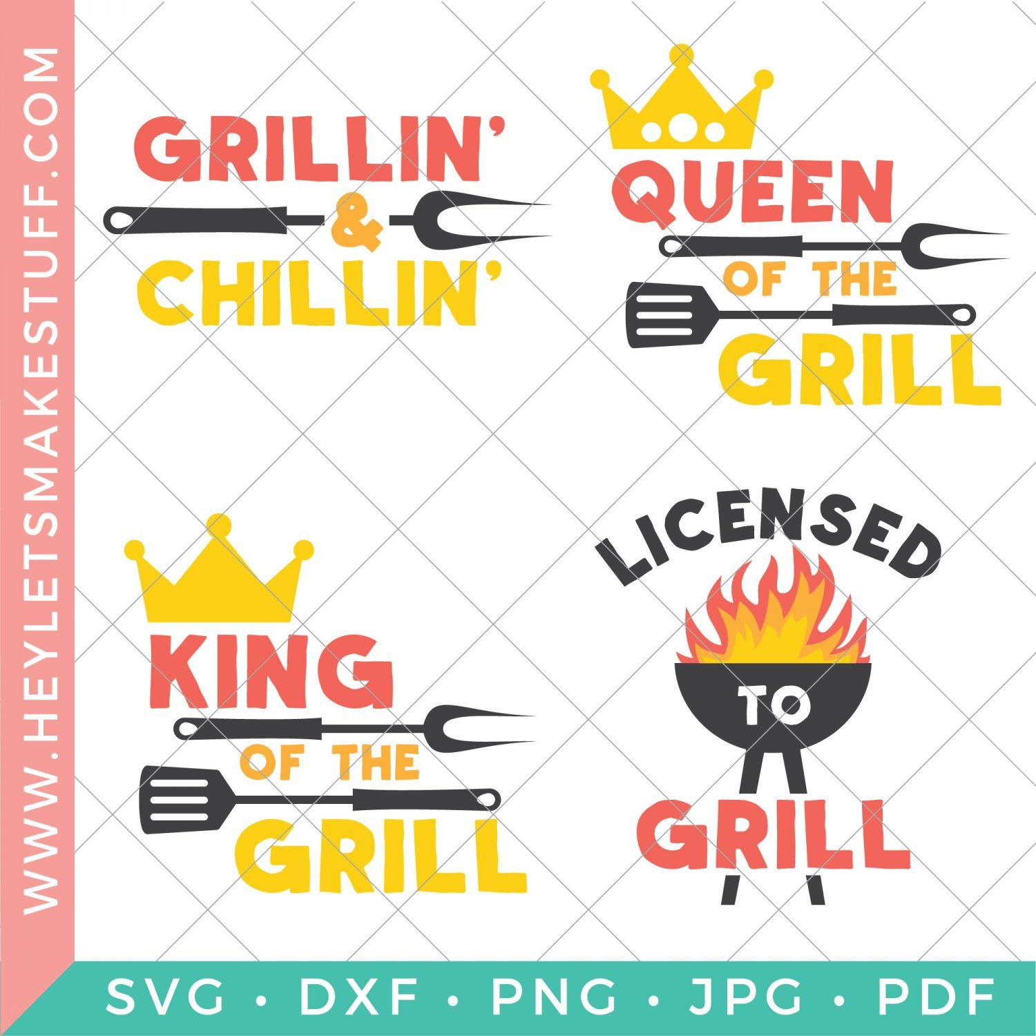 barbecue SVG files