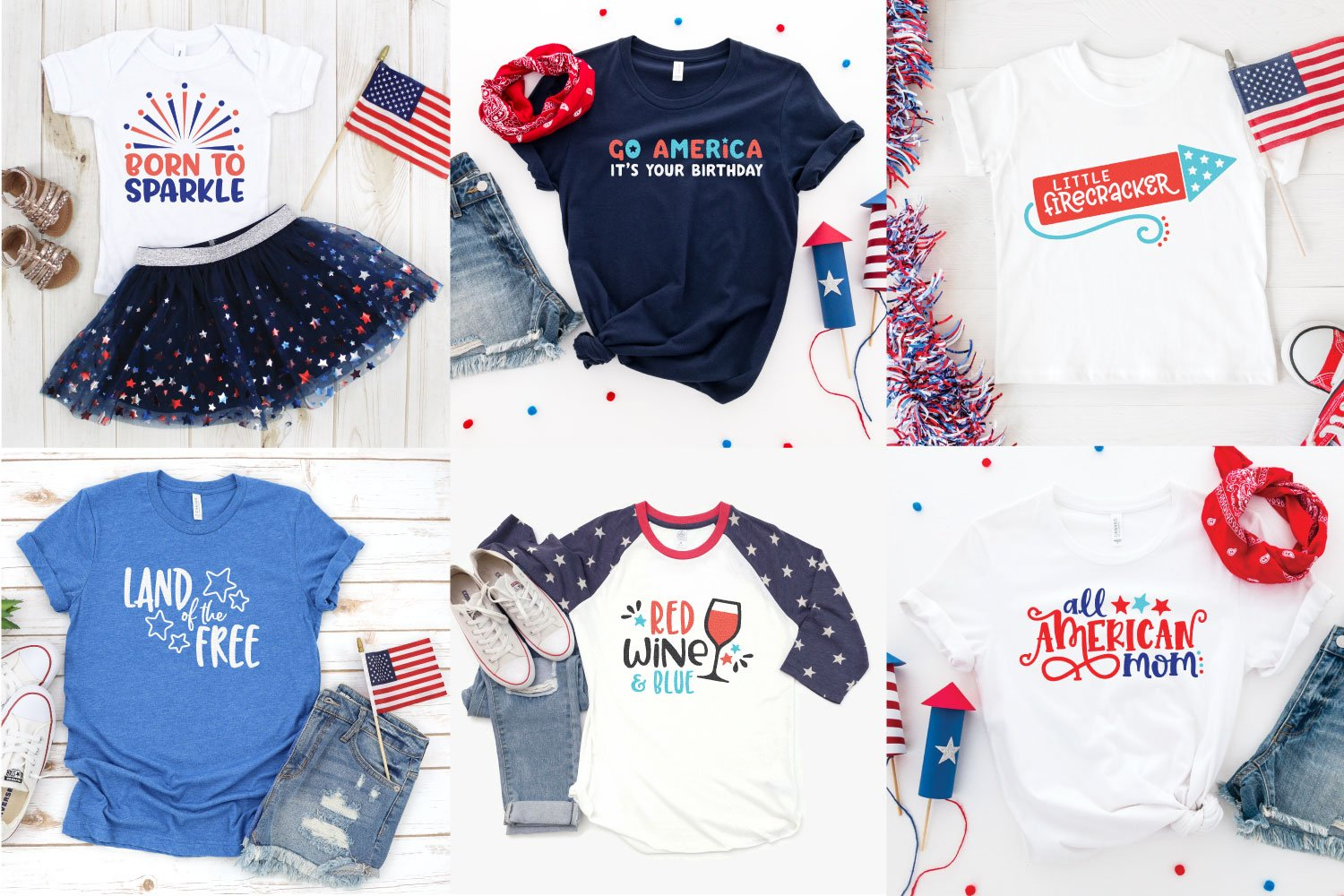 Big Fourth Of July Svg Bundle For Cricut Silhouette