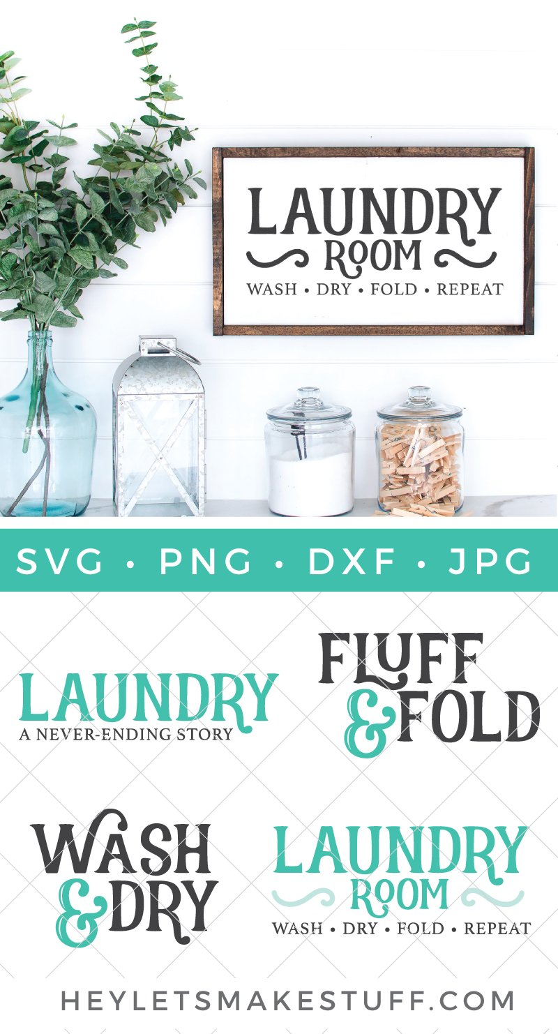 laundry room svg files pin image