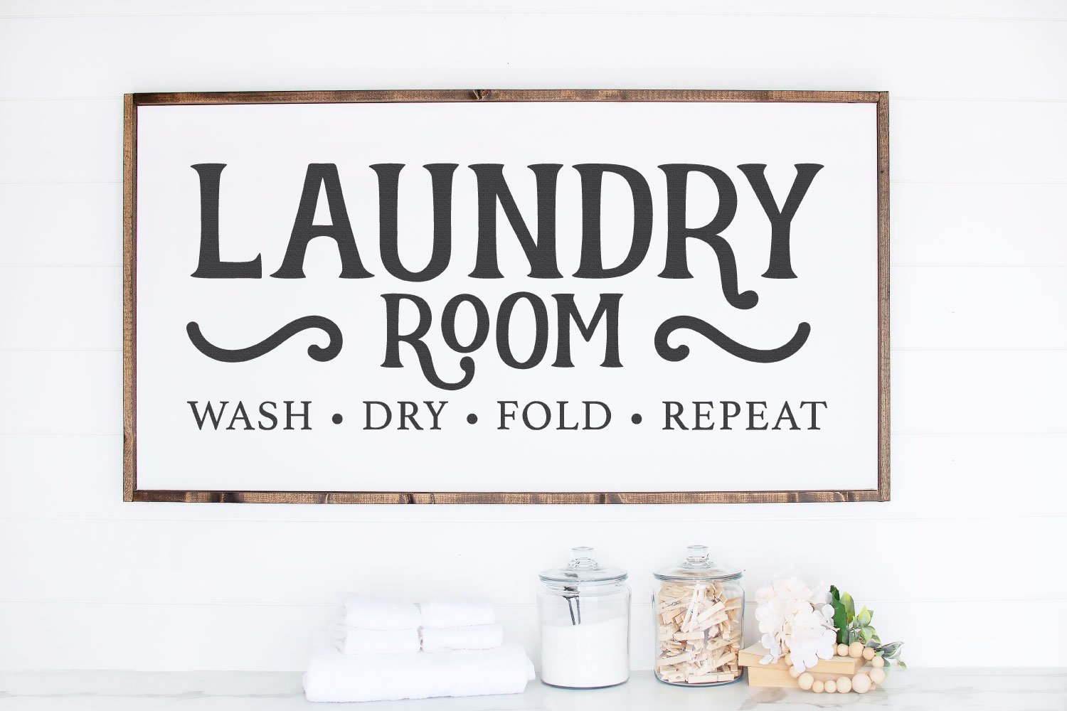 laundry room SVG sign