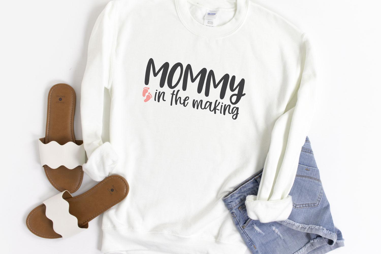 pregnancy cut files on shirt