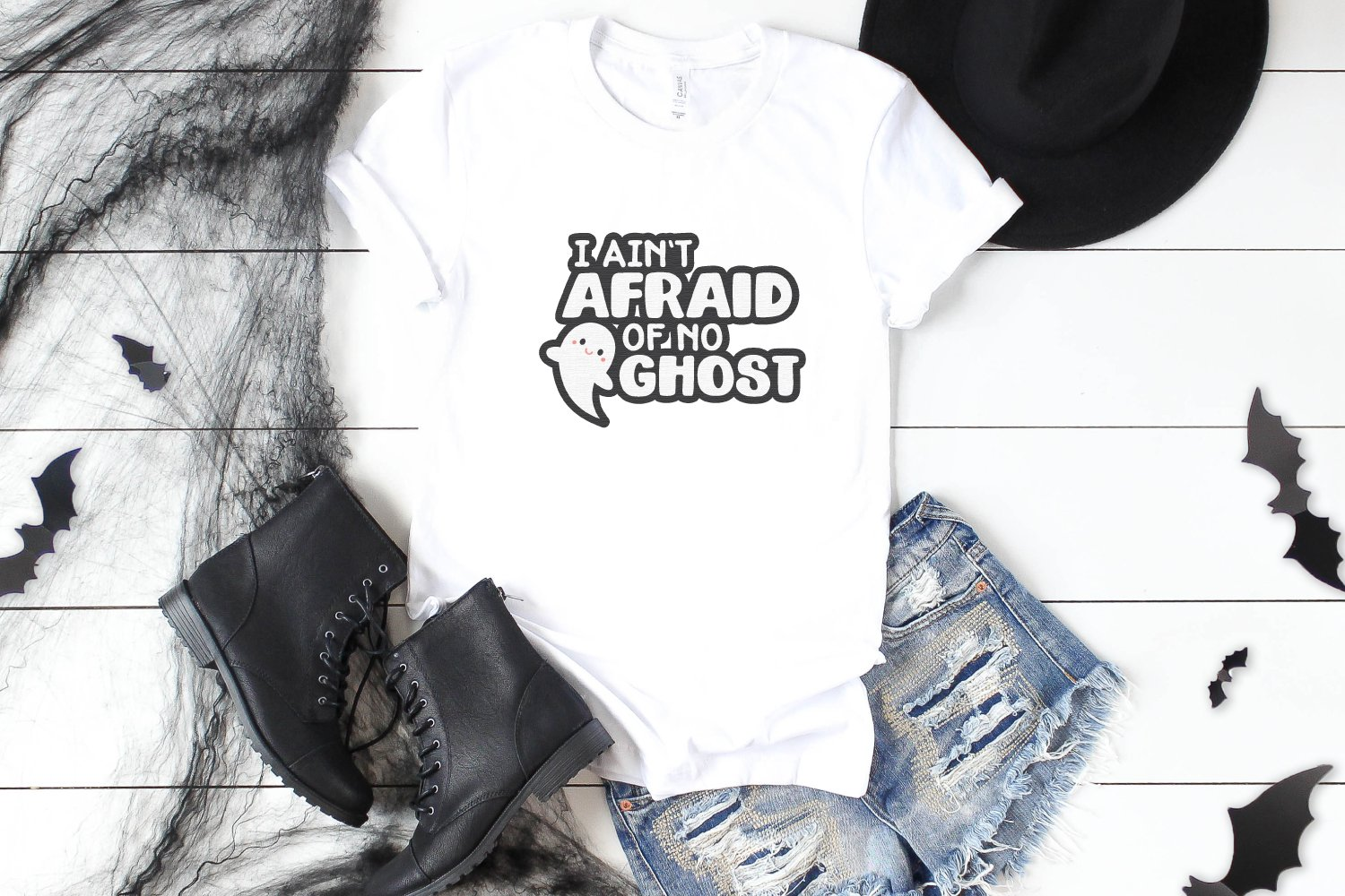 I Ain't Afraid of No Ghost t-shirt