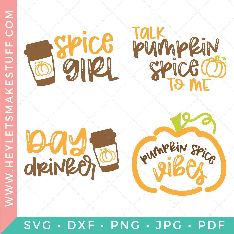 pumpkin spice SVG files